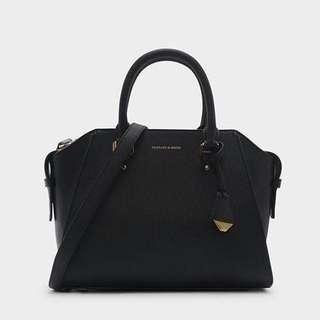 Charles & Keith Structured Handbag