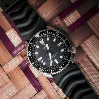 Jam tangan seiko diver 7002