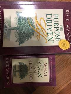 2 life-purpose books