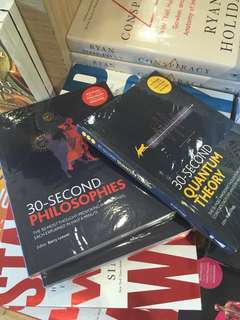 LOOKING FOR! These books from Fully Booked