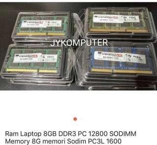 RAM 8GB DDR3 SODIMM