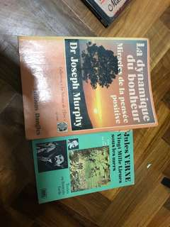 2 French books