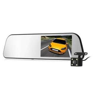 GOU UC58 REAR MIRROR DASH CAM DUAL CAMERA (FREE POSTAGE)