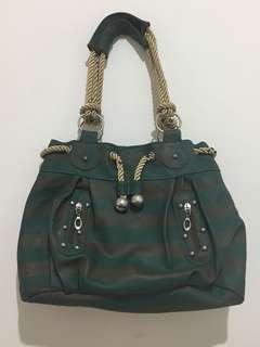 Green Rope Shoulder Bag
