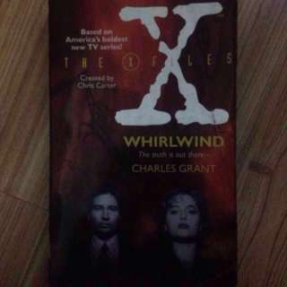 The X-Files Whirlwind by Charles Grant
