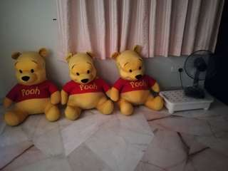Winnie The Pooh bear toy large size