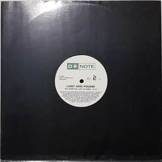 "Vinyl 12"" : D*Note - Lost And Found"