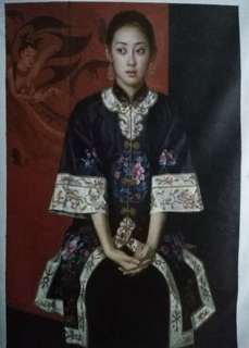 Chinese lady in traditional clothing