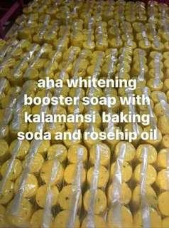 Aha soap with kalamansi and baking soda