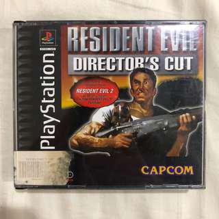 Resident Evil Director's Cut (Black Label)