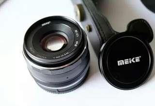 Lensa Meike Canon Fujifilm Sony
