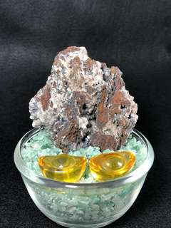 Leklai L601 Crystal 七彩力泥 - Iridescent Goethite