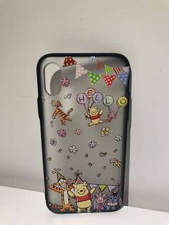 Winnie the pooh iphone X phone case (90%new)