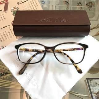 日本金子手工眼鏡框 琥珀色 CELLULOID handmade glasses frame