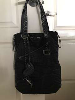 Guess quilted shopper bag
