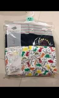 [Brand New] (0-3M) Baby Sleepsuit