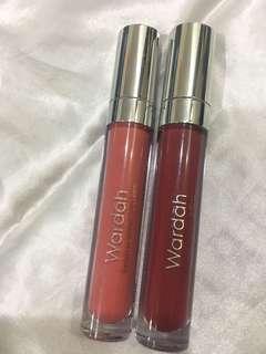 2 Wardah matte lip cream, Shade: 05 & 12