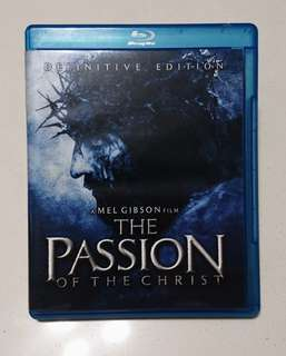 The Passion of the Christ Bluray