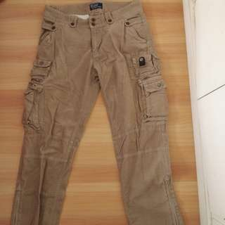 Authentic Polo Ralph Lauren Slim Cut Cargo Pants