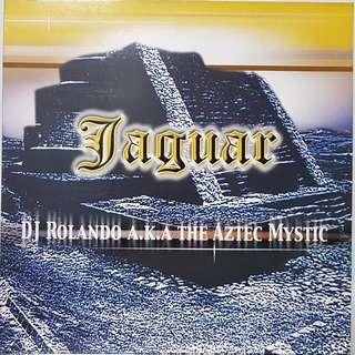 """Vinyl 12"""" : DJ Rolando A.K.A The Aztec Mystic - Jaguar"""