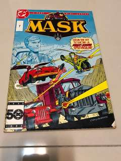 Retro comic Mask #1