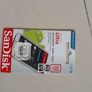SD Card Sandisk Micro Sdhc Class 10 Micro Sd Card