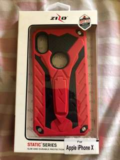 Zizo Static for iPhone X (Red)