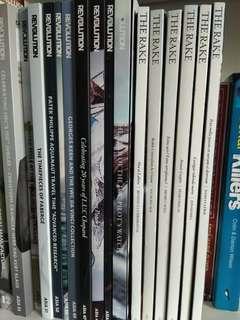 The Rake and Revolution magazines