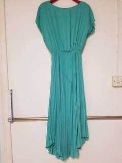 優美打摺長身裙