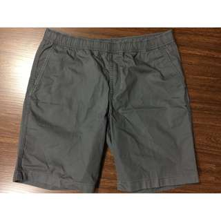 Uniqlo mens easy shorts gray L