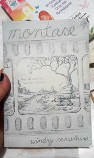 Novel Montase karya Windry Ramadhina