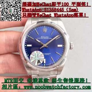 JF廠 勞力士Rolex Oyster Perpetual 114300 藍盤盤 玩具錶 面交 39mm