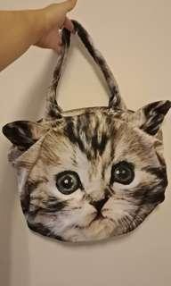 🚚 日本帶回 貓咪/貓臉包包