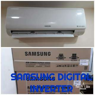 Split Type Aircon With Installation Samsung  Inverter