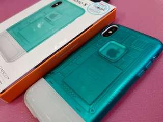 三禾電氣 Spigen IPhone X 10th Anniversary Limited Edition CLASSIC C1 case 藍色 手機殼 機套