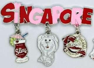 🚚 VV: Souvenir Magnet Charms Singapore 3.0