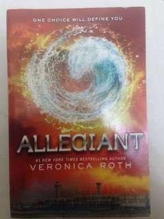 Novel: Allegiant (English)