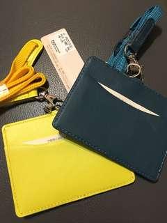 🚚 皮革識別證卡夾