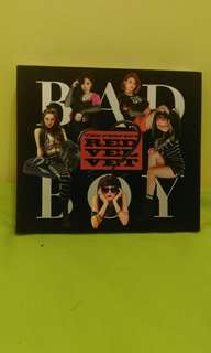 Red velvet Bad Boy 淨專
