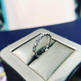 24份鑽石戒指 KR001503 18k白金