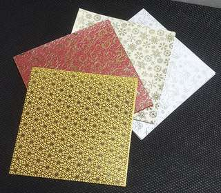 Origami Paper Pack, Single-Sided Print 💱 $2.80 Each Packet
