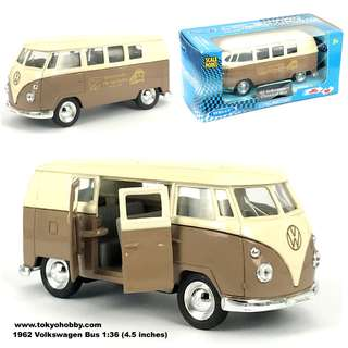 Volkswagen samba classical bus scale model  (approx 4.5 inch in length)