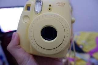 Fujifilm Instax Mini 8 Yellow (dibeli tanggal 30 juni 2018)
