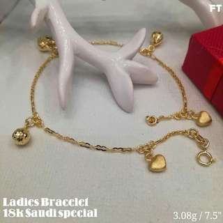 18k Ladies Bracelet