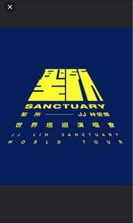 WTB 2x JJ Lin concert tickets Aug 18