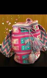 Good💖Wayuu tribes hand knitted bag 最潮哥倫比亞Wayuu手織袋