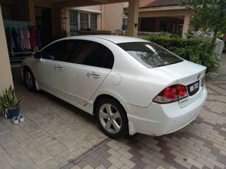 Honda civic 1.8 s.l v-tech