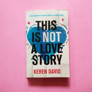 USED BOOK This is Not A Love Story