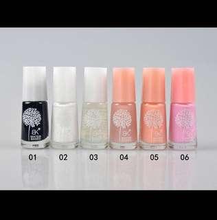 💄💎 Water Based Muslimah Metallic & Solid Colour Nail Polish