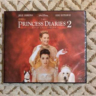 PRINCESS DIARIES 2 VCD